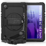 Cumpara ieftin Carcasa 360 grade TECH-PROTECT Solid Samsung Galaxy Tab A7 10.4 inch Black