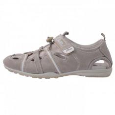 Adidasi copii, din piele naturala, marca sOliver, 5-54106-26-3, bej , marime: 39
