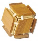 Cumpara ieftin Joc logic IQ din lemn bambus 3D Magic box