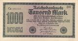 GERMANIA 1.000 marci 1922 VF+++!!!