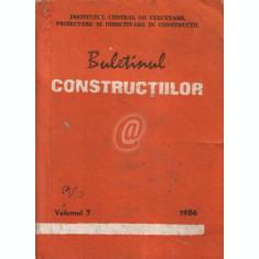 Buletinul constructiilor, vol. 7 (1986)