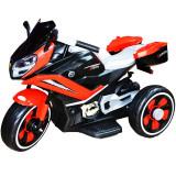 Motocicleta cu acumulator si 2 motoare 6V Rosu
