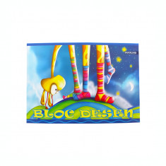 Bloc desen A4 15 file 120 g/mp