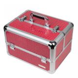 Geanta Produse Cosmetice din Aluminiu Fraulein38, Pink