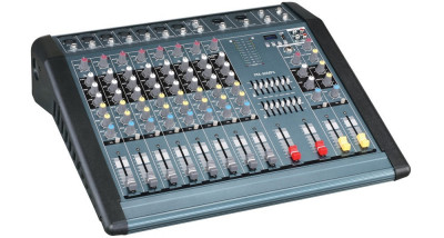 Mixer profesional putere 1300W MP3 Player, 12 canale, efecte voce foto