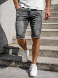Cumpara ieftin Pantaloni scurti de blugi bărbati Bolf KR1257