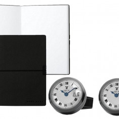 Set Butoni TF Est 1968 Watch Display PVD black si Note pad Black Hugo Boss