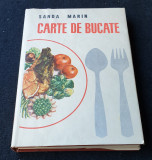 Carte veche de Bucate Gastronomie Retete - preparate Culinare SANDA MARIN 1966