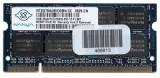 Memorie (ram) de laptop Sodimm NANYA 2Gb DDR2 667Mhz PC2-5300S, nt2gt64u8hd0bn