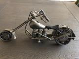 Chopper ,motocicleta macheta metalica,decorativa