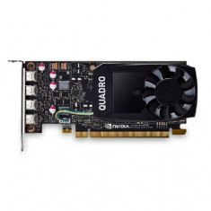 Placa video PNY NVIDIA Quadro P1000, 4GB, GDDR5, 128-bit, Low-profile