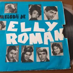 "melodii de elly roman disc vinyl 10"" muzica usoara slagare compilatie EDD 1190"