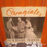 - Y- CARAGIALE  - O SCRISOARE PIERDUTA - DUBLU ALBUM - DISC VINIL