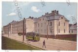 574 - SIBIU, tramway, Romania - old postcard - used - 1913