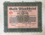 1000 Goldmark Titlu de stat Germania 1931