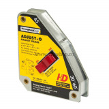 Cumpara ieftin Vinclu Magnetic cu Buton Adjust-O™, Forta 65 kg, Unghi 30°/45°/60°/90°, Strong Hand Tools MSA53-HD