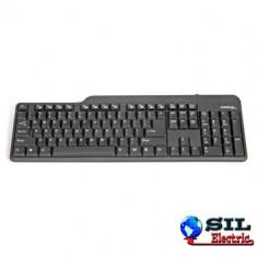 Tastatura USB Draco neagra, Omega