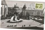 Carte postala-CLUJ- STATUIA LUI MATEI CORVIN, Necirculata, Printata