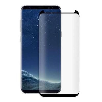 Folie Sticla Protectie Display Samsung Galaxy S8 Acoperire Completa Neagra foto