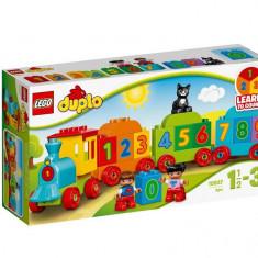 Set de constructie LEGO DUPLO Trenul cu numere
