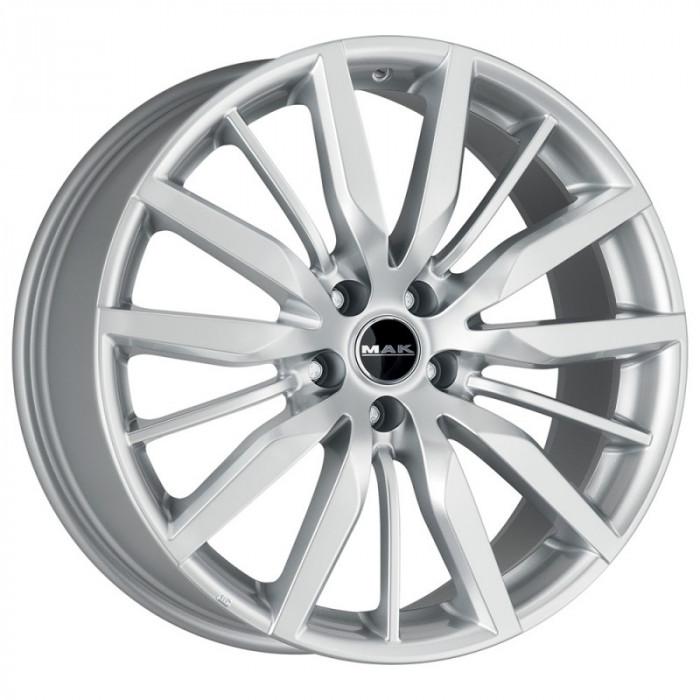 Jante FORD S-MAX II Serie (O.E. STEEL WHEELS) 8J x 19 Inch 5X108 et45 - Mak Barbury Silver - pret / buc