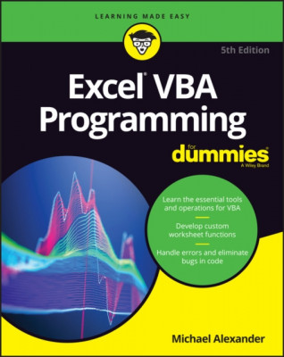 Excel VBA Programming for Dummies foto