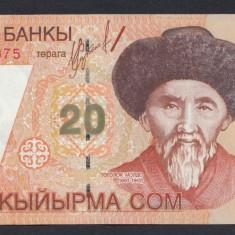 A4788 Kyrgyzstan 20 som 2002 UNC