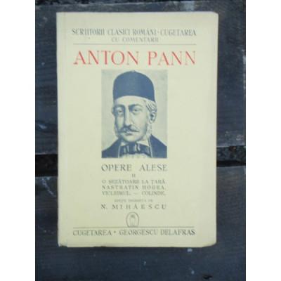 ANTON PANN - OPERE ALESE VOL.II foto