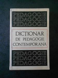 STEFAN BARSANESCU - DICTIONAR DE PEDAGOGIE CONTEMPORANA