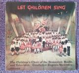 Let children sing, corul de copii al Radioteleviziunii Romane, disc vinil