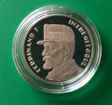 50 bani 2019, Ferdinand, România, Proof, în capsula originală