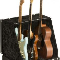 Stativ Fender Classic SRS Case Stand 3 Guitars, Black