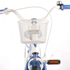 Bicicleta fete Volare Paisley 16 inch cu roti ajutatoare partial montata