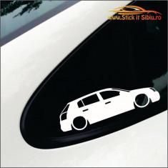 Opel Signum!   - Stickere Auto -Cod: MOV-106-Dim:  15 cm. x 4.5 cm.