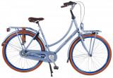 Bicicleta Salutoni, 28 inch, culoare albastru, frana fata + contraPB Cod:82877