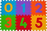 Puzzle covoras 6 piese pentru copii Baby Ono 275, BabyOno