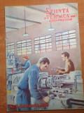 Stiinta si tehnica pentru tineret februarie 1950-art. strungul si avionul