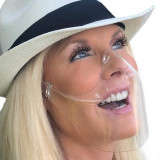 Masca protectie faciala nas gura Neo Half transparent dezinfectabil fashion usor