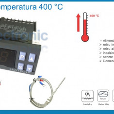 Termostat electronic digital Controler temperatura 220 V 5-400 °C