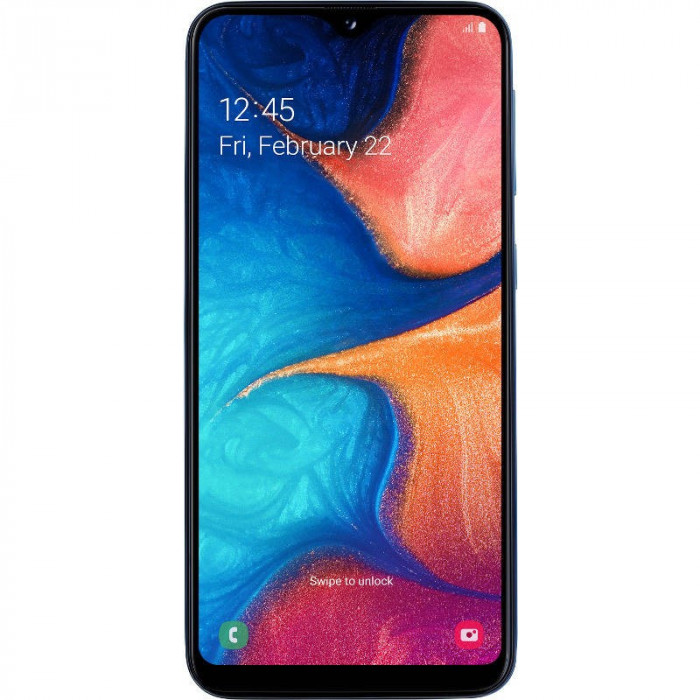 Smartphone Samsung Galaxy A20e 32GB 3GB RAM Dual Sim 4G Blue