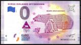 X. X. RARR : 0 EURO SOUVENIR - NORVEGIA , INSULELE SVALBARD - 2019.1 - UNC