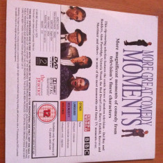 MORE GREAT COMEDY MOMENTS ( BBC )  - DVD Original