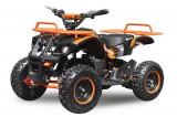 Mini ATV electric pentru copii NITRO Torino Quad 1000W 48V Portocaliu