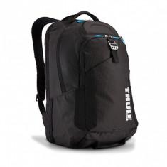 Rucsac urban cu compartiment laptop Thule Crossover 32L Black, Professional Backpack pentru 15 Apple MacBook iPad pocket, w Safe-zone