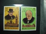 MONSERRAT CHURCHILL MNH-, Nestampilat