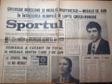 Sportul 11 septembrie 1972-jocurile olimpice munchen,i.nastase a castigat finala