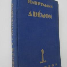 A demon (lb. maghiara) - Gerhardt Hauptmann