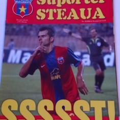 "Revista fotbal - ""Suporter STEAUA"" (Nr.22/2006) - poster jucatori Steaua"