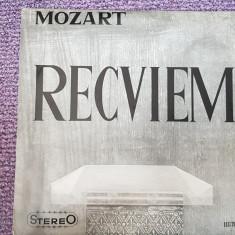 Mozart Recviem, disc vinil