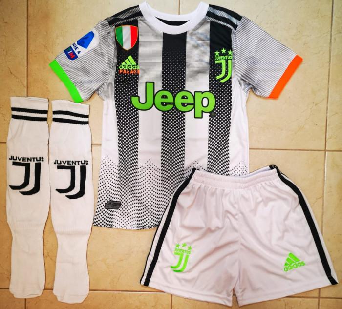Compleu Echipament fotbal pentru copii 5-6 ANI JUVENTUS DYBALA NR.10
